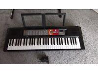 Yamaha PSR F50 portable digital keyboard & manual & AC adaptor. In full working order.