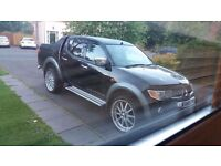 Mitsubischi l200 for sale or swap for van in god conditios or large car