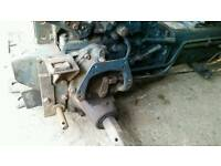 Kubota b 7100d backend and gearbox