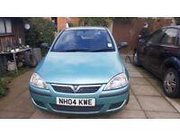 Vauxhall corsa for sale 12 months MOT