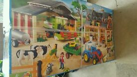 Huge box of bnib playmobil farm