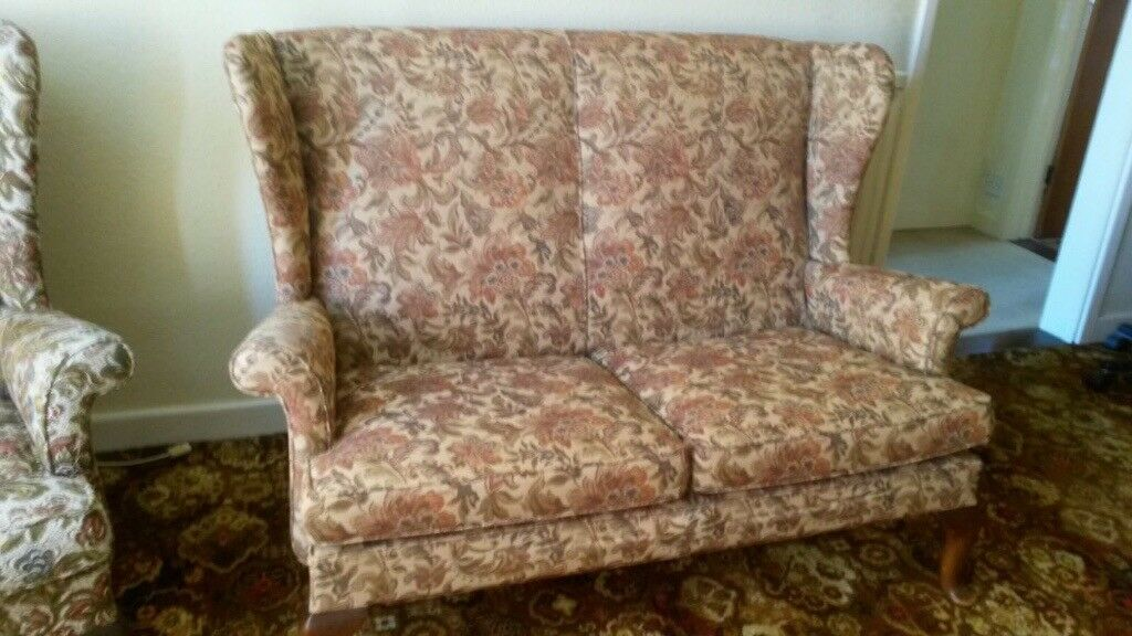 Parker Knoll 2 Seater Sofa 2 Sets Of Stretch Covers Free