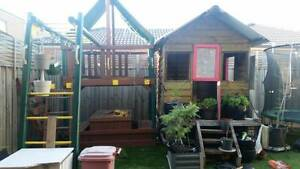 Childrens kids outdoor playground and cubby house Laverton Wyndham Area Preview