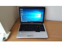 Fast Samsung Laptop Dual Core Microsoft windows 10 Office 4GB RAM