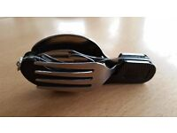 Camping Cutlery Penknife - Blade, Spoon, Fork, Bottle Opener, Key Ring