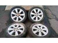 "Vauxhall vectra 17"" alloy wheels"