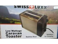 Caravan kettle and toaster