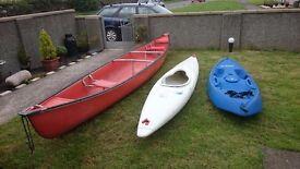 Pirana canoe
