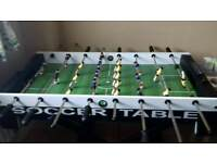 Solex 4ft folding soccer table £30
