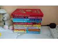 Set of 8 Cathy Cassidy books + the girls book of everything FREE!