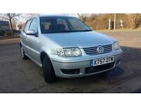 VOLKSWAGE POLO MATCH SILVER 1.4//1 OWNER//2 KEYS//CAM BELT CHANGED/SERVICE HISTORY £699