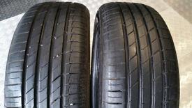 205 55 16 2 x tyres Jinyu Gallopro YH18