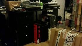 Desk black almost né