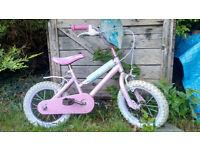 Kids bike bicycle Disney Princess pink for 3-5 yrs old