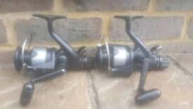 Carp fishing reels old skool baitrunners