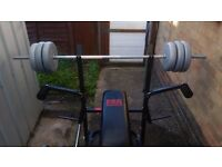 Pro power weight bench with 70kg of york weights £100 o.n.o
