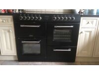 Belling Kensington range oven with multifunction oven and second fan oven