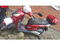 Honda sh 125cc clean and tidy