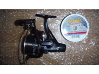 Match feeder fishing reel and line tackle cormoran reel super jet match