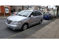 2009 Ssangyong Rodius ** low mileage**