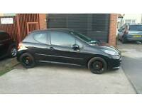 PEUGEOT 207 1.4 VERVE LIMITED EDITION WITH 1 YEARS MOT