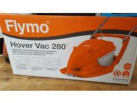 Flymo HoverVac 280 Electric Hover Collect Lawnmower 1300 W - 28 cm