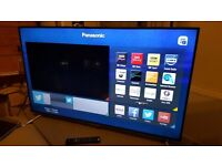 "PANASONIC 55"" Smart ULTRA HD 4K 3D HD TV with built in Wifi,Freeview HD, Netflix,Excellent condition"
