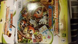 Nintendo Wii family trainer treasure adventure