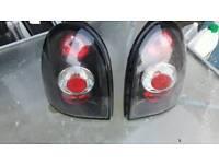 Vauxhall corsa b rear lexus light units