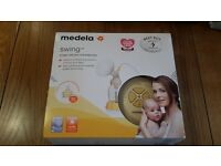 Medela Swing Single Electric Breastpump, in excellent condition.