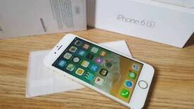 iPhone 6s 32GB + New Earphones EE Virgin T-Mobile Gold + Case + Screen Protector DELIVERY AVAILABLE