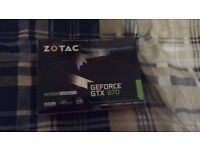 *SOLD* Zotac GEFORCE GTX 970 - 4GB - Used and working, GREAT CONDITION