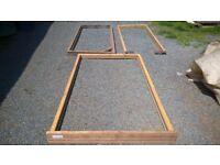 timber / wooden door frame