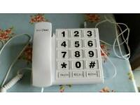Push button phone