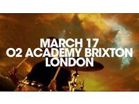 FEEDER - THE BEST OF TOUR! BRIXTON ACADEMY LIVE STALLS STANDING TICKETS £35