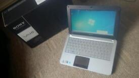 Sony Vaio laptop 10.1 inch windows 7 and 250gb HDD VERY good condition