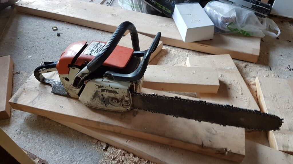 Stihl chainsaw oil ads buy sell used find great prices stihl chainsaw 028av used but works as it shouldin beverley east yorkshire stihl chainsaw greentooth Images