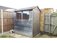 Shed for free taker to dismantle