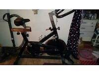 Vintage exercise bike