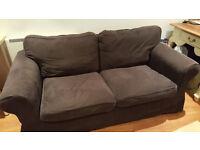Ikea Ektorp Sofa 2-seater (black)