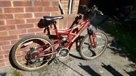 "Kids 24"" Sabre Mountain Bike"