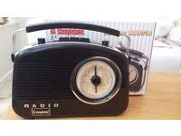 Steepltone Brighton Retro 3 Band Portable Radio