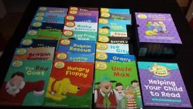 Read with Biff, Chip and Kipper Collection: Levels 1-3 and 4-6