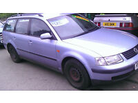 VW PASSAT 1.6 ESTATE 1997 £450