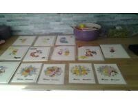 Hand Made Disney xmas Cards