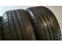 255 40 18 2 x tyres PIRELLI SottoZero WINTER 210 Serie II RUN FLAT
