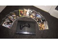 Sony PlayStation 3 Black 500GB with Games