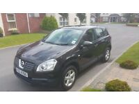 2008 NISSAN QASHQAI 1.6 VISIA, FULL SERVICE HISTORY, 101K, BLUETOOTH, ALLOYS, EXCELLENT CONDITION!