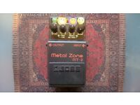 Boss MT2 Metal Zone Distortion Pedal