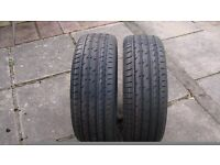new 205-50-17 tyres brand new set of two